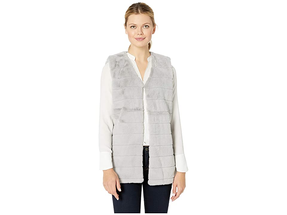Echo Design Faux Fur Vest (Echo Charcoal) Women