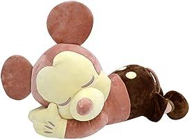 MORIPiLO モリシタ ミッキーマウス 抱き枕 ブラウン クラシック添い寝枕 ディズニー 58x23x31cm