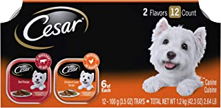 Cesar Minis Wet Dog Food Variety Pack