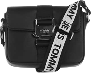 Tommy Jeans Women's Femme Item SM Crossover Bag, Black - AW0AW08407