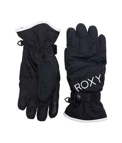 Roxy Jetty Solid Snowboard/Ski Gloves (True Black) Extreme Cold Weather Gloves