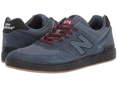 New Balance Numeric AM574 (Navy/Black) Men
