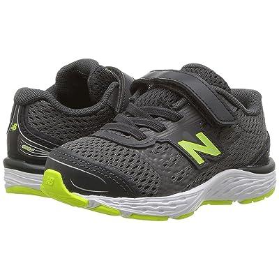 New Balance Kids KA680v5I (Infant/Toddler) (Magnet/Hi-Lite) Boys Shoes