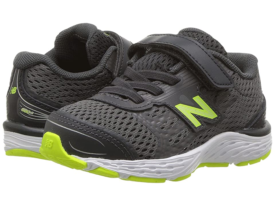 New Balance Kids KA680v5I (Infant/Toddler) (Magnet/Hi-Lite) Boys Shoes