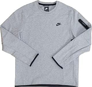 Nike Sportswear Tech Fleece Men's Crew Double-Sided Spacer Fabric for Added Warmth Without Extra Weight Cu4505-063