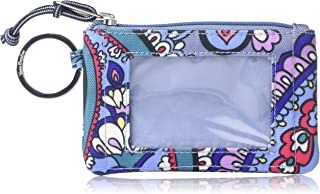 Vera Bradley Lighten Up Zip ID Case, Polyester