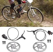 DIYARTS 1 para Fahrradbremse Feine Farbe Aluminiumlegierung Hydraulische Scheibenbremsen Vorne Hinten /Öldruck Bike Bremsen F/ür MTB Rennrad 4 Farben Optional