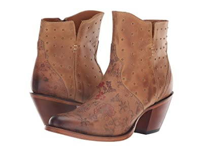Lucchese Harley (Brown Floral Print) Cowboy Boots