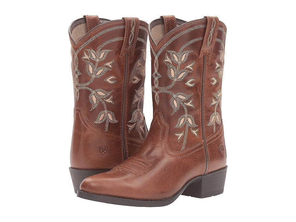 Ariat Kids Desert Holly (Toddler/Little Kid/Big Kid) (Coyote Brown) Cowboy Boots