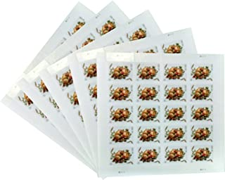 Celebration Corsage Sheet of 20 USPS Forever First Class Two Ounce Stamps Wedding Mother's Day Proms (5 Sheets of 20 Stamps)