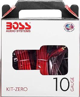 BOSS Audio KIT10 4 Gauge Amplifier Installation Wiring Kit KITZERO