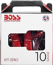 BOSS Audio Systems KIT-ZERO 10 Gauge Installation Kit