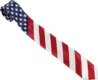 558e2d6001fa USA American Flag Style Neck Tie