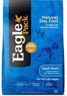 Eagle Pack Natural Dry Dog Food Small Breed Dog Food Chicken & Pork