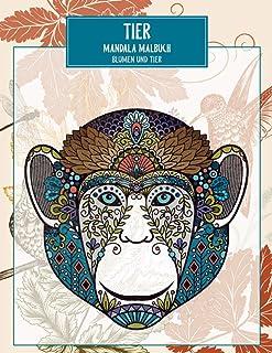 Mandala Malbuch - Blumen und Tier - Tier