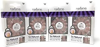 Nailene So Natural Everyday French, Medium Pink [71513] 24 ea (Pack of 4)
