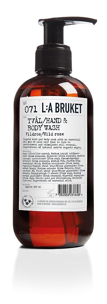 悲しい虫を数える明日L:a Bruket (ラ ブルケット) ハンド&ボディウォッシュ (ワイルドローズ) 450g