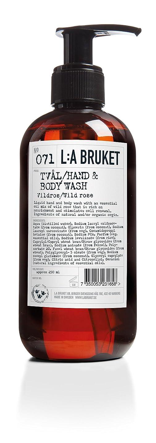 ヒューマニスティック好きである磁器L:a Bruket (ラ ブルケット) ハンド&ボディウォッシュ (ワイルドローズ) 450g