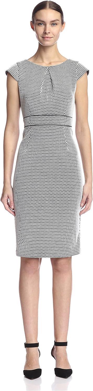 A.B.S. by Allen Schwartz Women's Open Net Sheath Dress