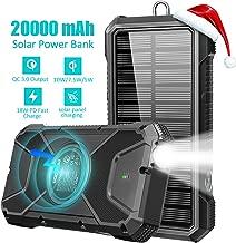 Best lit solar power bank 20000mah Reviews