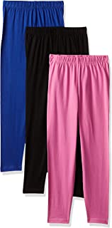 Cloth Theory Girl's Skinny Regular fit Trousers (Combo Pack of 3)