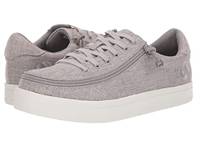 BILLY Footwear Classic Lace Low Chambray (Grey Jersey) Men