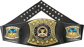 Custom Wrestling Trophy Personalized Championship Leather Belt D90