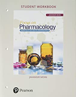 Student Workbook for Focus on Pharmacology: Essentials for Health Professionals