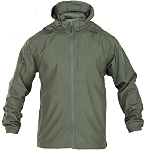 Tactical Men's Packable Operator Jacket, Foldable, Water and Wind Resistant, Style 48169
