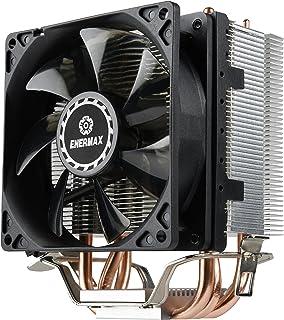 Enermax ETS-N31 - Ventilador de PC (Procesador, Enfriador, LGA 1150 (Zócalo H3), LGA 1151 (Zócalo H4), LGA 1155 (Socket H2), LGA 1156 (Socket H), LGA 1366, 9,2 cm, 800 RPM, 2000 RPM)