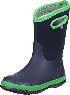 Bogs Kids Classic High Waterproof Insulated Rubber Rain and Winter Snow Boot for Boys, Girls and Toddlers, Multiple Color Options