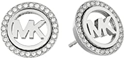 Pave Stud Earrings