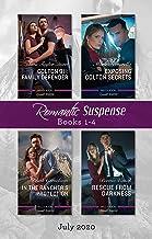 Romantic Suspense Box Set 1-4 July 2020/Colton 911: Family Defender/Exposing Colton Secrets/In the Rancher's Protection/Rescue from (Colton 911: Grand Rapids)