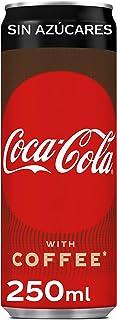 Coca-Cola Plus Coffee Sin Azúcar Lata - 250 ml