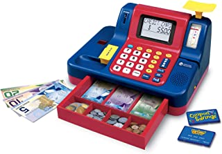 Learning Resources Pretend & Play Teaching Cash Register [Frustration Free Packaging]