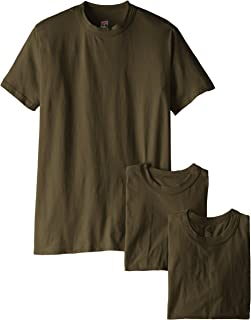 Soffe Men's Soft Spun Military 3 Pack T-Shirts