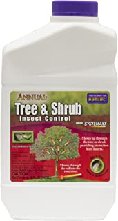 Bonide 037321006091 Annual Tree & Shrub Drench Concentrate Multiple Insects Qt