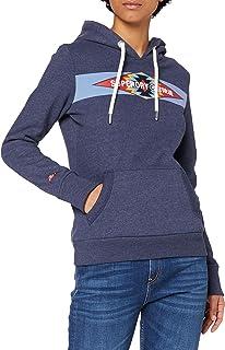 Superdry Vintage Casual Hood Sudadera con Capucha para Mujer