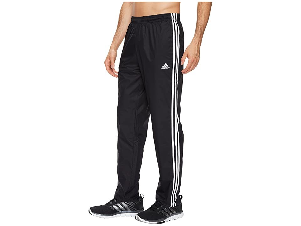 adidas Essentials 3S Wind Pants (Black/Black/White) Men