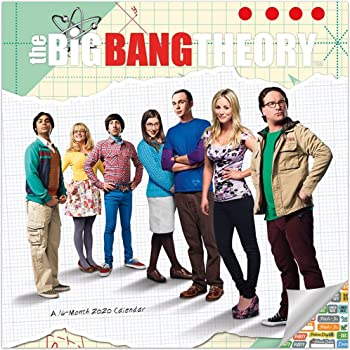 The Big Bang Theory Calendar 2020 Set - Deluxe 2020 The Big Bang Theory Wall Calendar with Over 100 Calendar Stickers (The Big Bang Theory Gifts, Office Supplies)