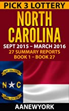 Pick 3 Lottery North Carolina: 27 Summary Reports (Book 1 to Book 27)