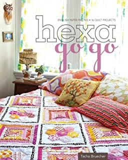 Hexa-Go-Go: English Paper Piecing - 16 Quilt Projects