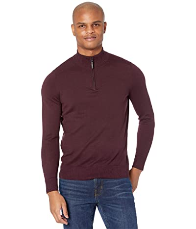 Smartwool Sparwood 1/2 Zip Sweater (Woodsmoke Heather) Men