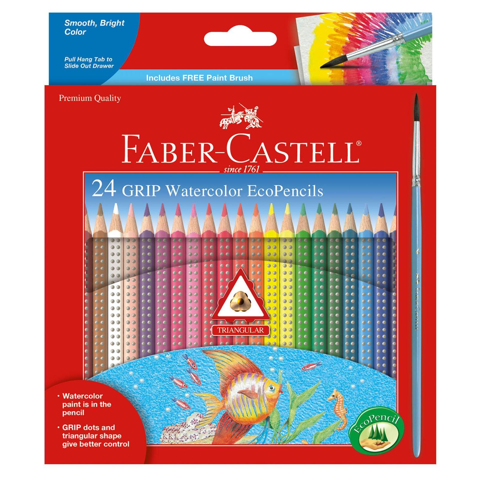 Faber Castell Watercolor EcoPencils Premium Supplies