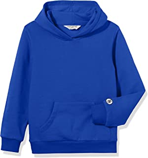 Kids' Soft Brushed Fleece Casual Basic Pullover Hooded Sweatshirt Hoodie for Boys or Girls,Age(4-12Years)