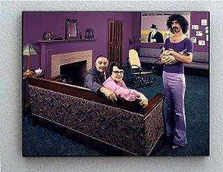 Rare Framed Frank Zappa Parents and cat 1970 Vintage Photo. Jumbo Giclée Print