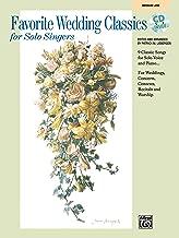 Favorite Wedding Classics for Solo Singers: Medium Low Voice, Book & CD