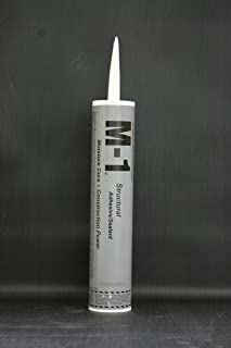 M-1 Construction Adhesive and Sealant Gray 10.1 Oz Field Pack 16