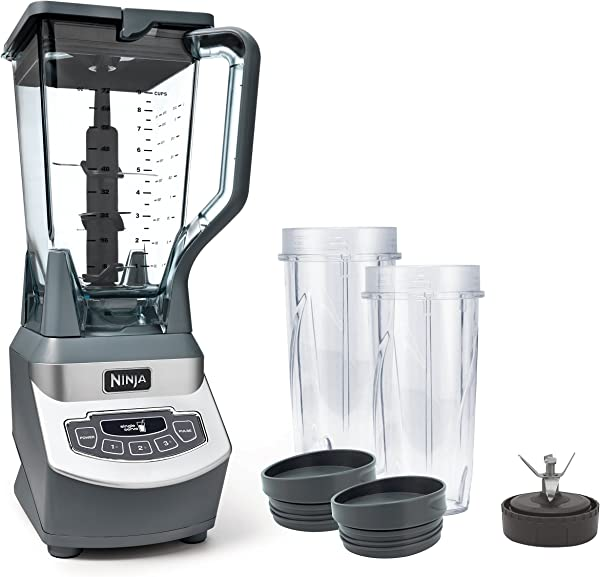 Ninja Professional Countertop Blender With 1100 Watt Base 72oz Total Crushing Pitcher And 2 16oz Cups For Frozen Drinks And Smoothies BL660