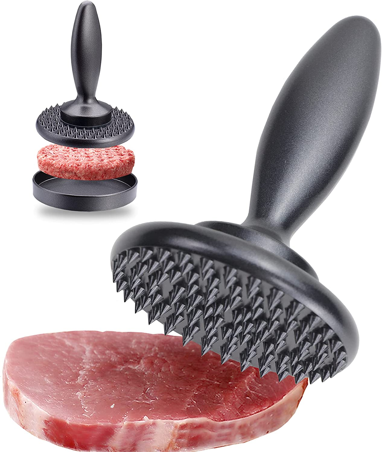 Meat Tenderizer 3-in-1 Reversible Ranking TOP2 and Tool New products, world's highest quality popular! Poun